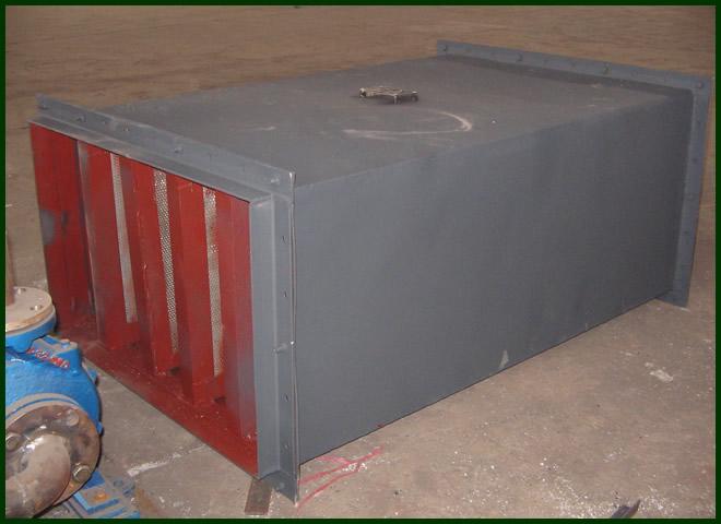 风机消声器,风机消声器锅炉辅机电力设备