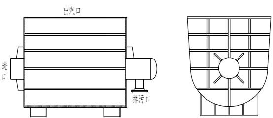 箱式吹管消声器,箱式吹管消声器